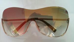 Fendi Shield Metal Gradient Sunglasses - Women