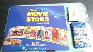 Woolworths ancient animals and Disney movie stars complete albums Girrawheen Wanneroo Area Preview