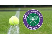 2 x Wimbledon Tickets - Mon 9th July - Centre Court - 4th Round