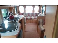 4 Berth Bailey Pageant Moselle Series 5. Includes all weather awning, wheel clamp + accessories