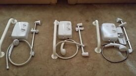 Triton Electric Showers x3 looking to sell all together may sell separate