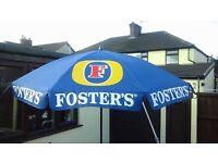 Fosters Garden Pub Umbrella