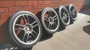 Osaka racing wheels 4x100 & 4x114.3 Epping Whittlesea Area Preview