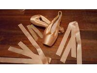 Gaynor minden ballet pointe shoes - Pink - UK Size 5.5