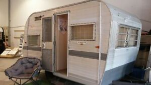 Looking for a small vintage camper