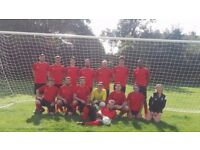 Rochester & District Saturday Football Team based in Medway, Kent. Looking for Players