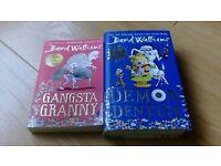 David Walliams book x 2