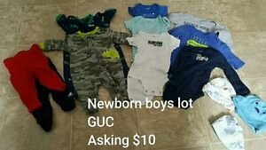 Newborn Boys Lot - Less than $1/piece Kitchener / Waterloo Kitchener Area image 1