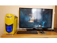 Gaming PC Intel Haswell + r7 260x + 8Gb DDR3