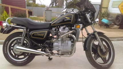 Sale. CX500 custom. 5th/ 1980 model.