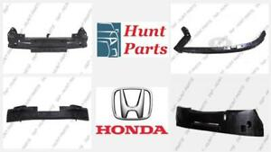 Honda Fit 2009-2010-2011-2012-2013-2014 Front Rear Bumper Absorber Rebar Support Filler Bracket Lower Upper