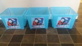 Thomas storage tubs