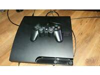 PlayStation 3 console plus one controller