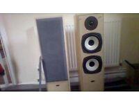 eltax symphony floor standing speakers