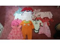 Girls clothes from 6-18 Months