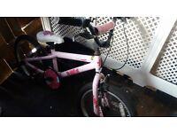pink bmx