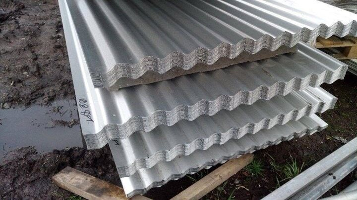🍄 ROOFING SHEETS CORRUGATED GALVANISED ALUMINUM COATED 8ft 10ft 12ft FREE  DELIVERY IN MANCHESTER | in Collyhurst, Manchester | Gumtree