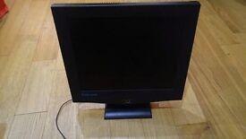"17"" flatscreen monitor"