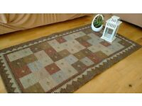 Vintage retro shabby chic rug *moving out sale