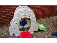 Feber buzz lightyear playhouse and slide