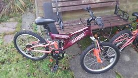 "Raleigh Extreme Mission 20"" Bike - Really Good Condition - £50 each ono (I have two available)"