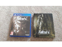 I have for sale game Fallout 4 for PS4! New condition!