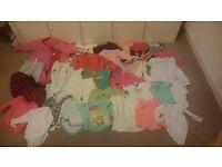 9-12 months girls clothes - 125 items (summer & winter)