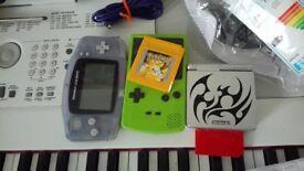 Gameboy Advance + Colour + Advance SP + Pokemon Yellow & Pokemon Red