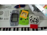 Gameboy Advance + Colour + Advance SP + Pokemon Yellow & Pokemon Red
