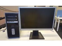 """Cheap 64bit PC with 22"""" Monitor"""