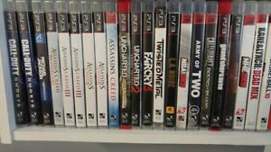 Assorted Gently Used PS3 Games
