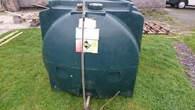 Titan 2500 Litre heating oil / red diesel tank