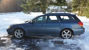 2006 Subaru Legacy Wagon...LOW LOW KMS for Year!!