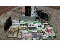 X BOX 360 Console Controls Kinect 4 & Games Bundle