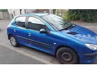 Peugeot 206 , 1.4, diesel, 5 door, 2005 car, £900 ono