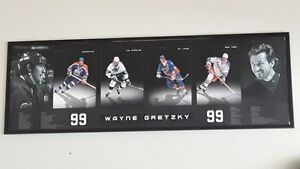 Custom framed Gretzky