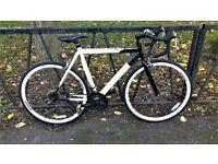 "Large Lightweight BARRACUDA Road Racer Racing Bike Bicycle. Fully Serviced & Guaranteed. 22"" Frame"