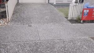 Concrete & paving acid wash and seal $20p sqm