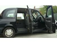 tx2 London black cab 54 plate