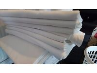 Packs of 10 quality banqueting linens perfect for weddings, restaurants and parties