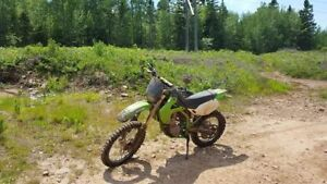 2001 KLX 300 with papers