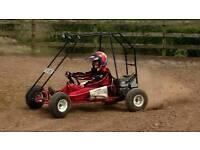 Kids twin seat Go Kart