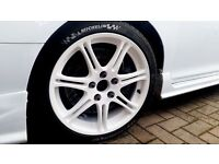 "Refurbished 17"" alloys Honda Civic EP3 Type-R not Integra DC5 5x114.3"