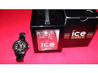 ICE WATCH IN BLACK
