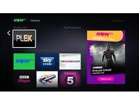 PLEX Now TV Box IPTV 3PM KICK OFFS VOD