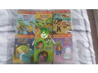 Leapfrog LeapReader junior & 6 books