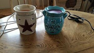 Rustic Star and Rustic Bloom Scentsy Warmers