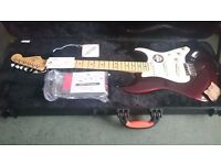 Fender American Standard Stratocaster 2016 Electric Guitar finished in Bordeaux Metallic - Brand New