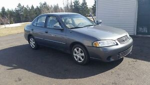 2001 Nissan Sentra Sedan - Price Reduced, Still available
