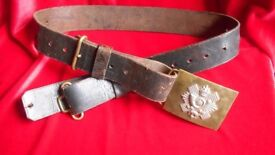 "Highland Infantry Belt by ""Hobson & son"".of London ltd"